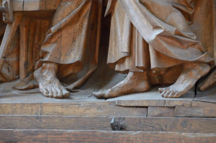 Tilmann Riemenschneider Altar - Füße