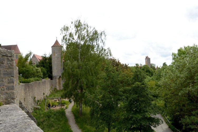 Spazierweg an der Stadtmauer