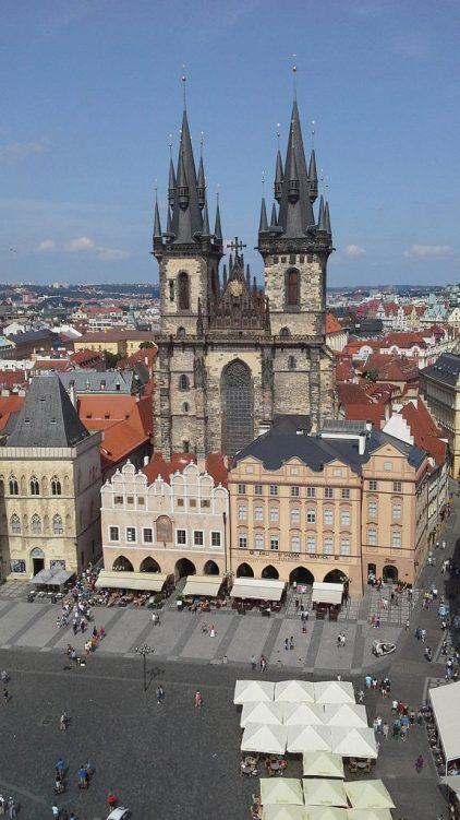 Luftbild vom Altstädterring