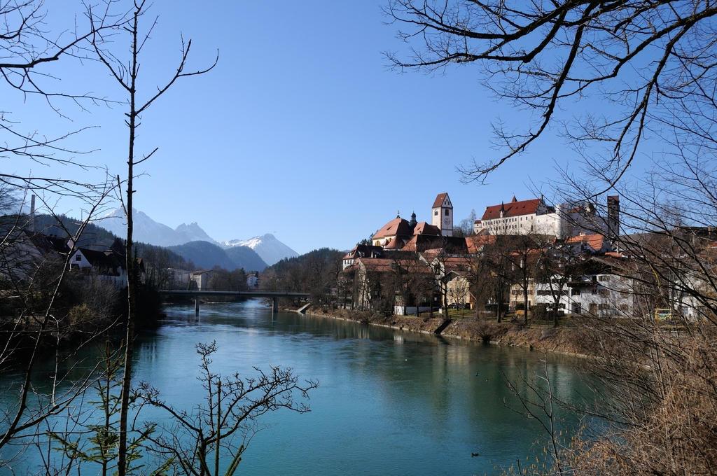 Stadtpanorama am Lech