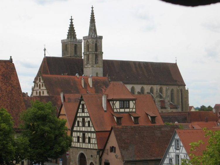 Blick auf St. Jakob