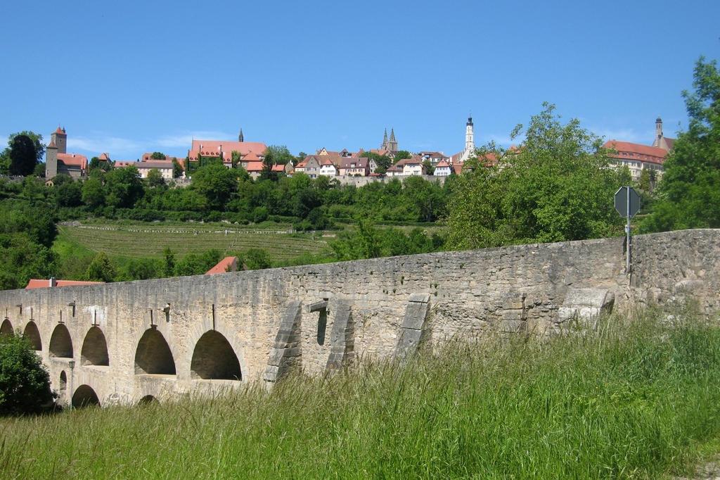 Panorama mit Brücke