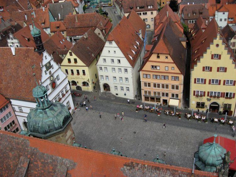 Ausblick auf den Rathausplatz