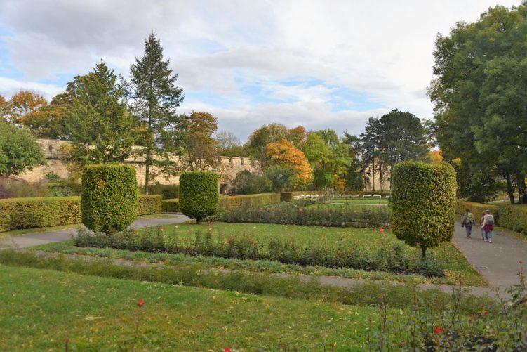 Rosengarten auf dem Laurenziberg