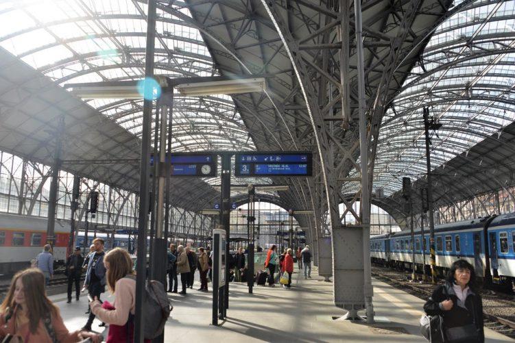 Sauberer Bahnhof