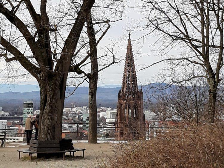 Kanonenplatz mit Aussicht auf das Münster