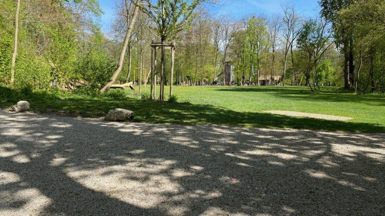 Stadtpark in Erding