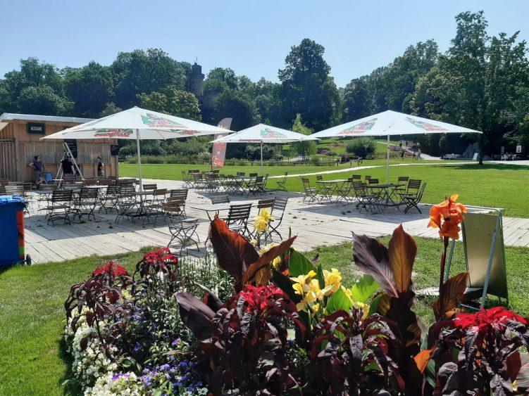 Gastronomie im Schlosspark Ludwigsburg