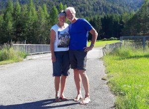 Eva und Wolfgang vom barfussblog